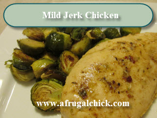 Post image for Cooking For One Recipes: Mild Jerk Chicken
