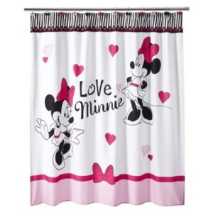 Post image for Amazon: Disney Minnie Mouse Shower Curtain $9.99