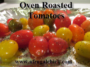 Post image for Cooking For One Recipes: Oven Roasted Tomatoes