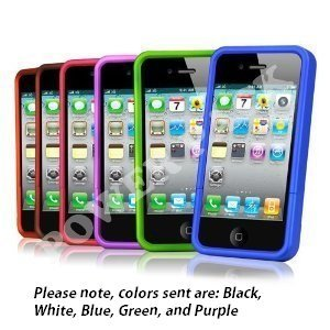 Post image for Five Pack Soft Rubber Silicon Skin Cover Case Combo for Apple iPhone 4 $4.43 Shipped