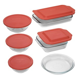 Post image for Amazon: Pyrex Easy Grab 11-Piece Bake-and-Store Set $19.99 Shipped