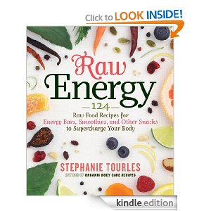 Post image for Kindle Download: Raw Energy: Raw Food Recipes to Supercharge Your Body $2.99