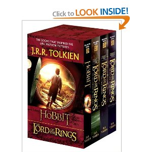 "Post image for Amazon: ""The Lord Of The Rings"" and ""Hobbit"" Book Set $12.25"