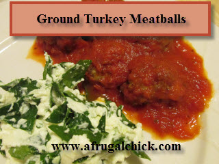 Post image for Cooking For One Recipes: Ground Turkey Meatballs (With Parmesan Cheese)