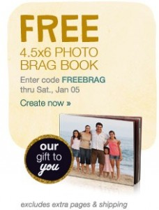 Post image for Walgreens- FREE 4.5 x 6 Brag Book