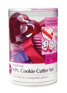 Post image for Wilton Valentine's Cookie Cutters Sale #valentinesday