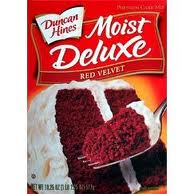 Post image for $.50/1Duncan Hines Red Velvet Cake Mix ($.29 at Harris Teeter)
