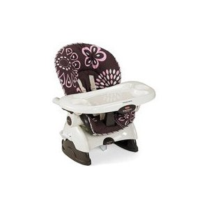 Post image for Walmart.com: Fisher-Price SpaceSaver High Chair, Cocoa Pink $37.50