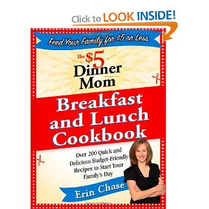 Post image for $5 Dinner Mom Breakfasts and Lunches Cookbook only $6