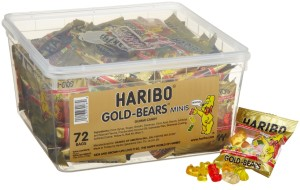 Post image for Haribo Gold-Bears Minis, 72-Count $11.99