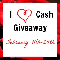 Post image for I Heart Cash Give Away