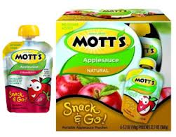 Post image for Lunchbox Alert: $0.55 off Mott's Snack & Go Applesauce Pouches (Harris Teeter $.90)