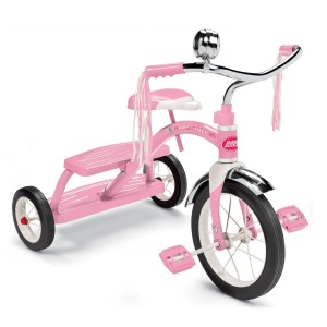 Post image for Amazon: Radio Flyer Girls Classic Dual Deck Tricycle, Pink $39.00 Shipped