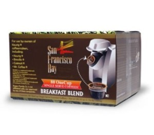 Post image for Amazon: San Francisco Bay Coffee K-Cup Breakfast Blend $.34 Each
