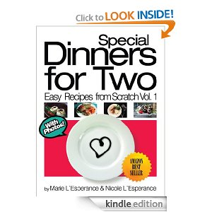 Post image for Amazon Free Book Download: Special Dinners for Two (Easy Recipes from Scratch)