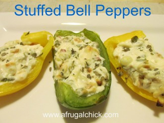 Post image for Cooking For One Recipes: Stuffed Bell Peppers