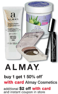 Post image for Walgreens: Great Almay Make Up Deals With New Coupon