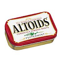 Post image for Rare Coupon: $0.50/1 1.76 oz. Altoids Tin