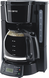 Post image for BestBuy.com Deal of the Day: Mr. Coffee – 12-Cup Programmable Coffeemaker in Black $17.99