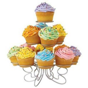 Post image for Luzy's Light-weight Tiered Metal Dessert and Cupcake Stand $12.96