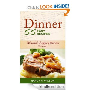 Post image for Amazon Free Book Download: DINNER – 55 Easy Recipes