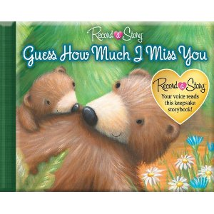 "Post image for Amazon: Recordable Children's Book ""Guess How Much I Miss You"" $8"