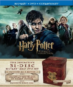 Post image for Harry Potter Wizard's Collection (Blu-ray / DVD Combo + UltraViolet Digital Copy) $249.99
