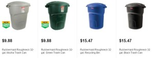 Post image for Home Depot: Rubbermaid Roughneck 32 Gallon Trash Can $9.88 + Free In Store Pick Up!