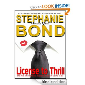 "Post image for Amazon Free Book Download: ""License To Thrill"" by Stephanie Bond"