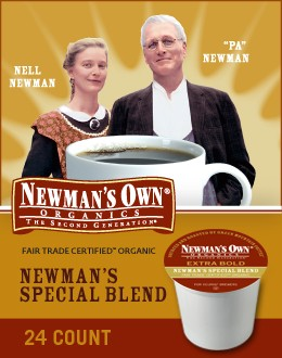 Post image for Newmans Own Organic Keurig K-Cups $.45 Each Delivered