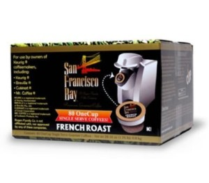 Post image for San Francisco Bay Coffee K-Cups, French Roast $.33 Each Shipped
