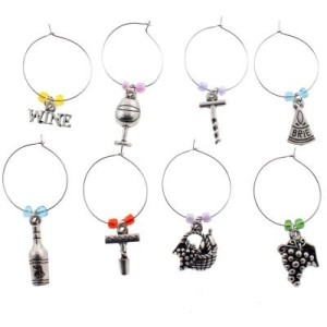 Post image for Amazon: 8 Wine Glass Charms $2.95 Shipped