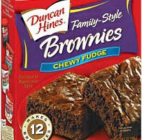 duncan hines brownie mix