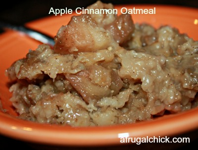 Post image for Cooking For One: Crockpot Apple Cinnamon Oatmeal