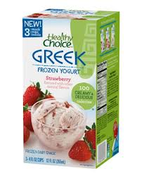 Post image for Healthy Choice Greek Frozen Yogurt 3 Pack $.75 at Harris Teeter