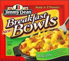 Post image for New Coupon: $0.50/1 Jimmy Dean Bowl ($1.29 at Harris Teeter)