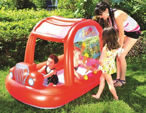 Post image for Amazon-Kiddie Pool: Inflatable Ice Cream Car Children's Splash Pool With Sun Shade Only $17.95