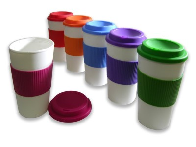 Post image for Amazon-Set of 6 BPA-Free 16-Ounce Capacity Reusable To Go Travel Mugs with Grip Only $17.49