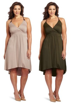 Post image for Wrapper Women's Plus-Size Jersey Dress $8.47