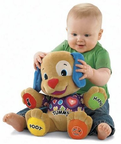 Post image for Amazon-Fisher-Price Laugh and Learn Love to Play Puppy $15.19