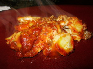 Post image for Cooking For One Recipes: Easy Lasagna Ravioli Recipe