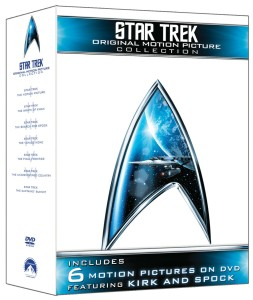 Post image for Amazon: Star Trek- The Motion Picture Collection ($22.49 DVD, $34.99 Blu-Ray)