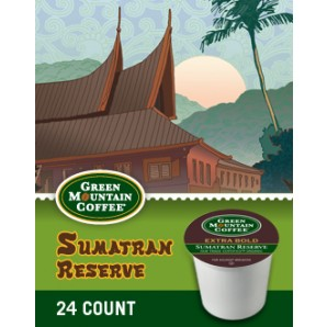 Post image for Cross Country Cafe- Sumatran Reserve Extra Bold Fair Trade Organic K-Cups $.45 Each