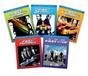 Post image for Amazon Daily Deal: Save 62% on Fast and Furious 1-5 Bundle on Blu-ray or DVD