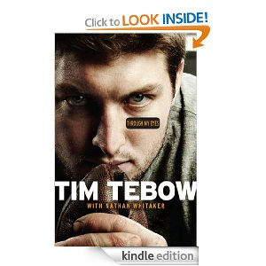 Post image for Amazon: Through My Eyes (Tim Tebow) $1.99