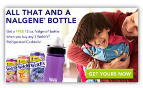 Post image for Welch's Rebate Offer: FREE Nalgene Bottle
