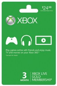 Post image for Amazon: 3 Month XBox Game Code $16.99 Plus $5 Promotional Code