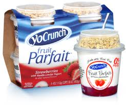 Post image for New Coupon: $.70/1 YoCrunch® Parfait 16 oz. Multipack ($.75 at Harris Teeter)