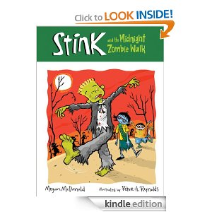 Post image for Amazon-Stink and the Midnight Zombie Walk Ebook Only $.99