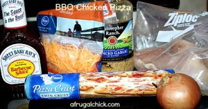 BBQ Chicken Ingredients